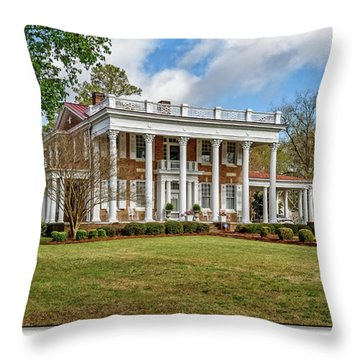 Tisdale Manor2 Throw Pillow