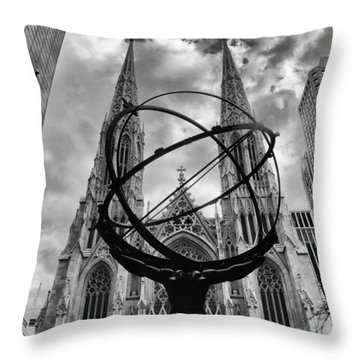 Titan Throw Pillow