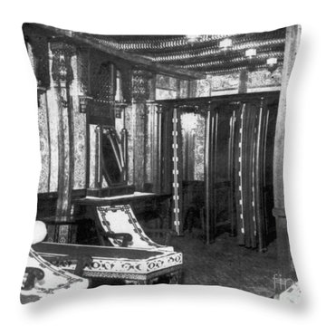 Titanic: Turkish Bath, 1912 Throw Pillow by Granger