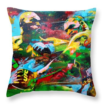 Titans Throw Pillow