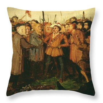 Title The Don On The Island Throw Pillow