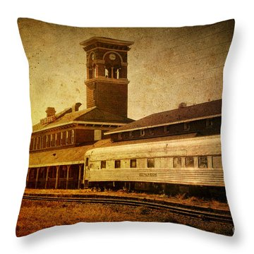 Titletown Brewing Company Throw Pillow by Joel Witmeyer