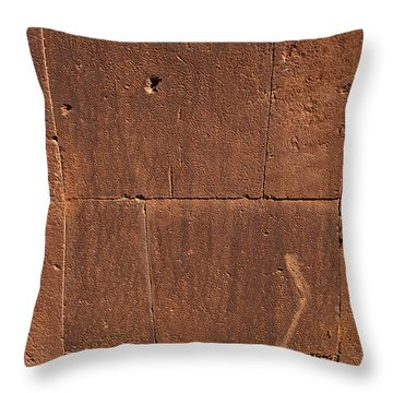 Tiwanaku Original Wall Throw Pillow by Aivar Mikko