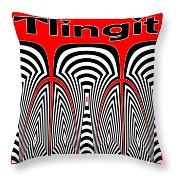 Tlingit Tribute Throw Pillow