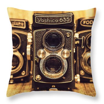 Throw Pillow featuring the photograph Tlr Group by Keith Hawley