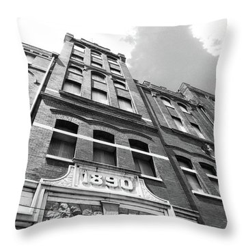 Tn Brewery Memphis 1890 Throw Pillow