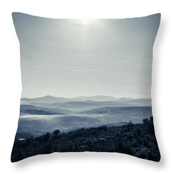 To A Peaceful Valley Throw Pillow