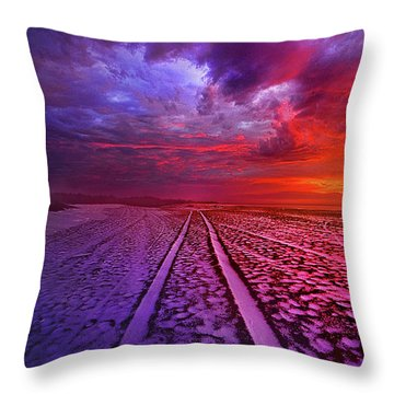 Throw Pillow featuring the photograph To All Ends Of The World by Phil Koch