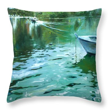 To Anjuna Throw Pillow