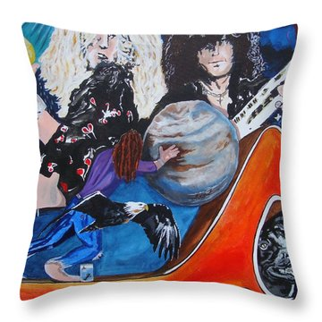 To Be A Rock And Not To Roll Throw Pillow
