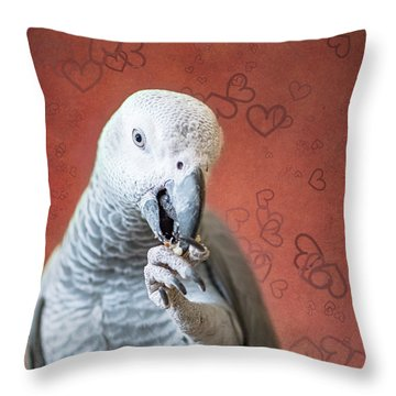 To Be Owned By A Grey Is To Know Love Throw Pillow