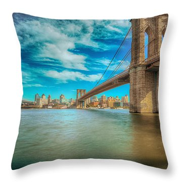 To Brooklyn And Back Throw Pillow