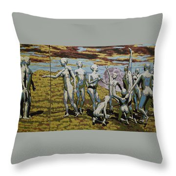 To Dance Throw Pillow by Leo Mazzeo