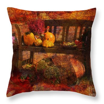 To Everything There Is A Season 2015 Throw Pillow
