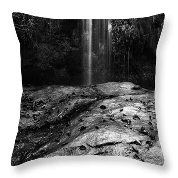 Throw Pillow featuring the photograph To Fall by Yuri Santin