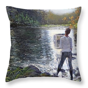 To Find Yourself Throw Pillow