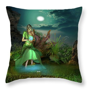 To Go Beyond Throw Pillow by Shadowlea Is