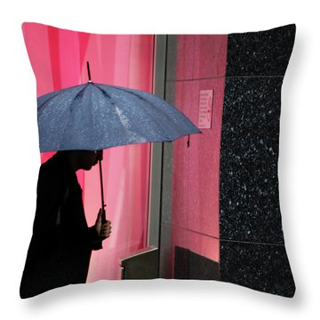 To Hearts I Crawl  Throw Pillow by Empty Wall