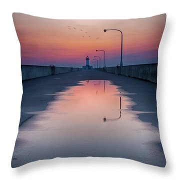 To Home Throw Pillow