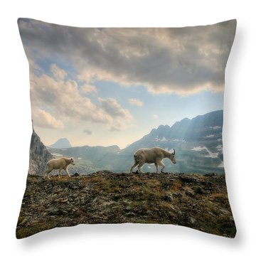 To Lead And Follow Throw Pillow