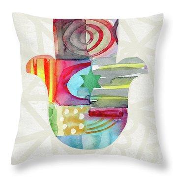 Hamsa Throw Pillows
