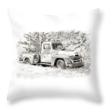 To Load Or Be Loaded Throw Pillow