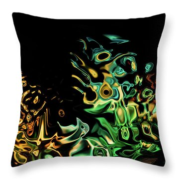 To Many Eyes Throw Pillow
