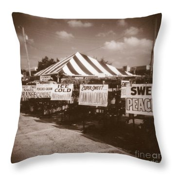 To Market  To Market Throw Pillow
