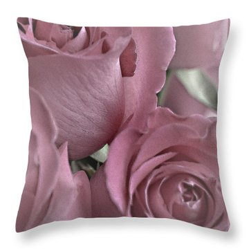 To My Sweetheart Throw Pillow by Sherry Hallemeier