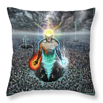 To Rise Above The Masses Throw Pillow