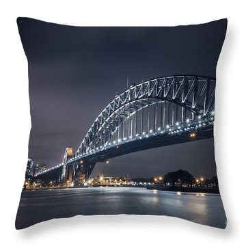 To Run With The Darkness Throw Pillow