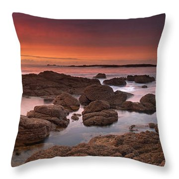 To Sea's Unknown Throw Pillow by John Chivers