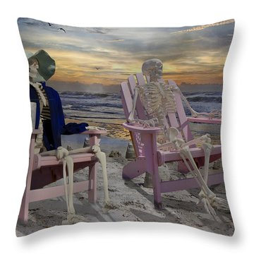 Sandcastle Throw Pillows