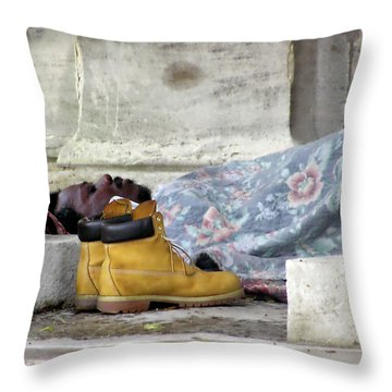 Throw Pillow featuring the photograph To Sleep Perchance To Dream by Brian Wallace