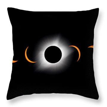 Totality Throw Pillows