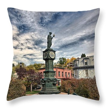 To The Colonel Throw Pillow