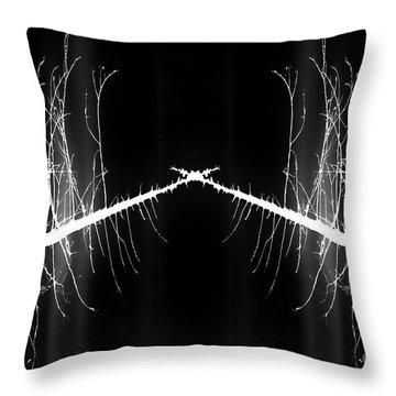 To The Crossroads Throw Pillow