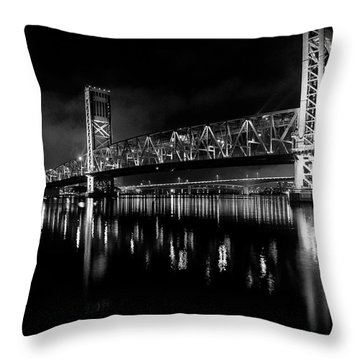 Throw Pillow featuring the photograph To The Crowne by Eric Christopher Jackson