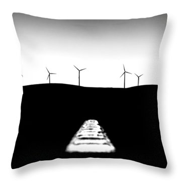 To The Future Throw Pillow