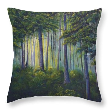 To The Light Throw Pillow