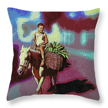 To The Marquet Throw Pillow