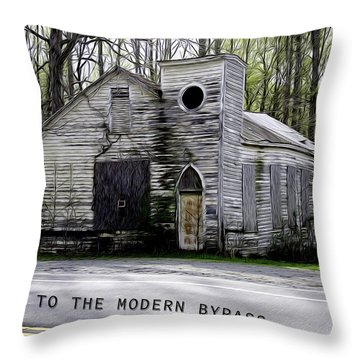 To The Modern Bypass Throw Pillow