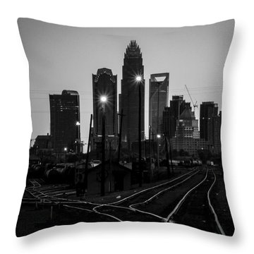 To The Queen City Throw Pillow