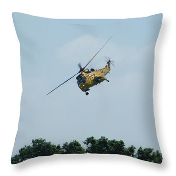 To The Rescue Throw Pillow