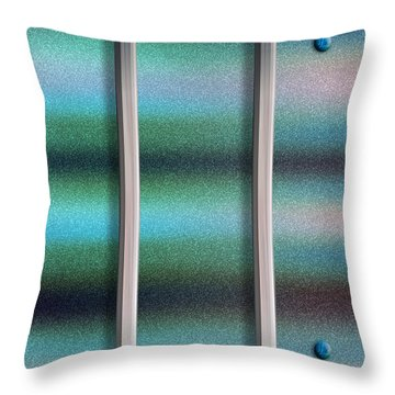 To The Right Throw Pillow by Paul Wear