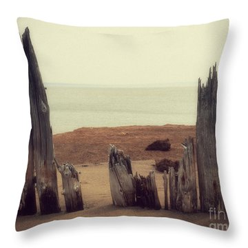 To The Sea Throw Pillow
