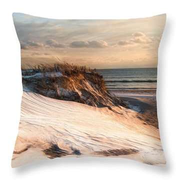 Throw Pillow featuring the photograph To The Sea by Robin-lee Vieira