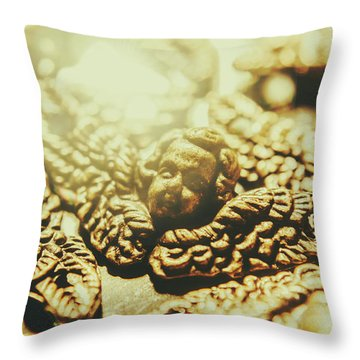 To The Source Of Love Throw Pillow