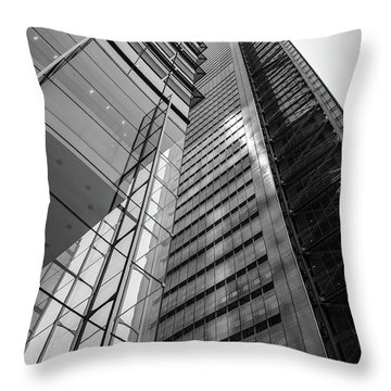 To The Top   -27870-bw Throw Pillow