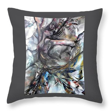 To The Tree Throw Pillow